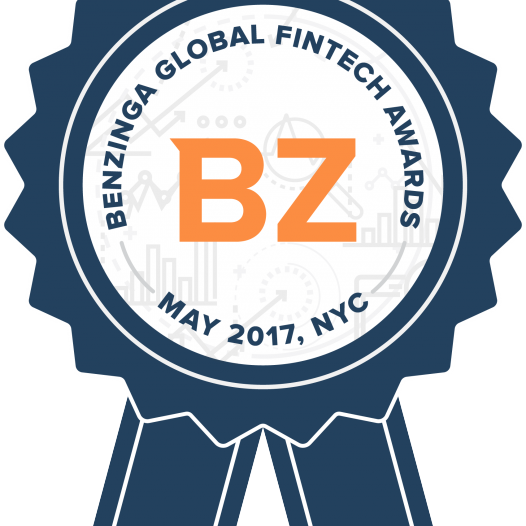 Benzinga Global Fintech Awards – May 11, 2017 – NYC, USA