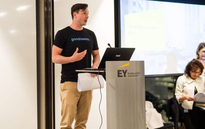 Tom Culver of Goodments wins inaugural EY WAMTech PitchFest