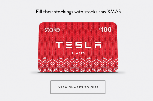 Fintech Stake Launches Christmas Gift Cards For Us Shares