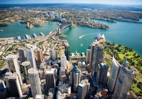 Bitcoin on the map in Sydneys city Australian FinTech