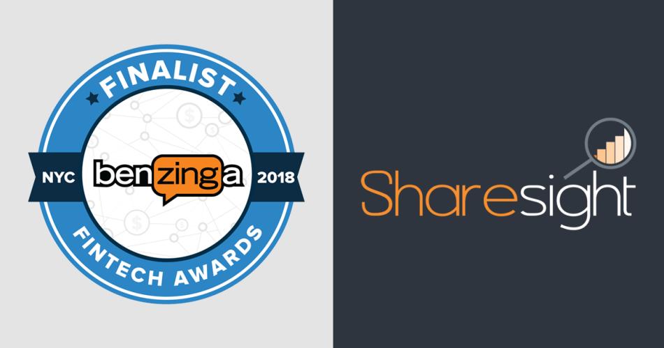 Sharesight wins 3rd at Benzinga Global Fintech Awards