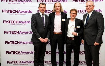 Trade Ledger wins Ashurst FinTech Startup of the Year at the 3rd Annual FinTech Awards
