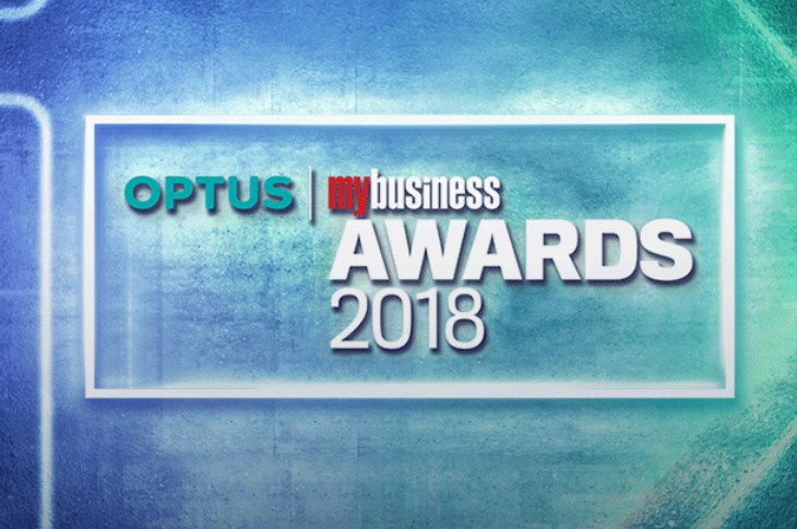 Australian Fintech finalists at the 2018 Optus My Business Awards