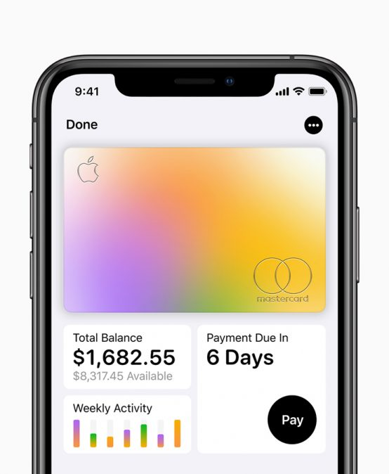 Apple Card is a credit card you can sign up for and start using with your iPhone