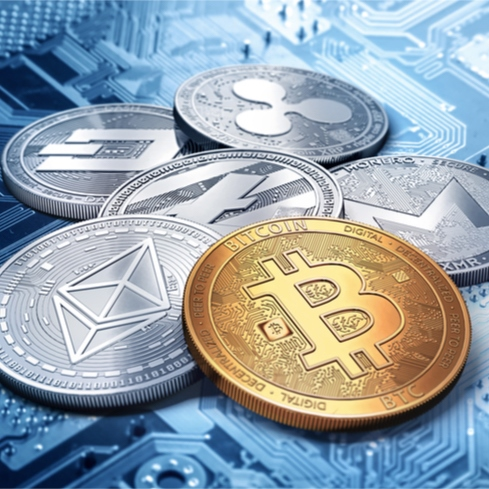 Ever increasing attention of commercial companies to cryptocurrency