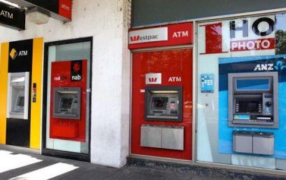 ATM use falling, electronic banking, spending rising