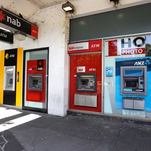 ATM use falling, electronic banking, spending rising