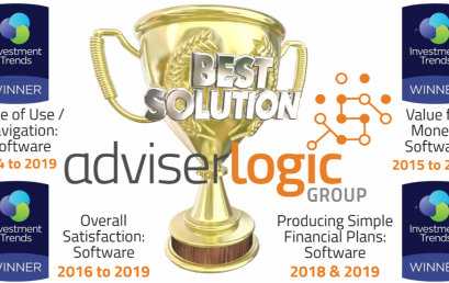 AdviserLogic once again is the No. 1 software choice