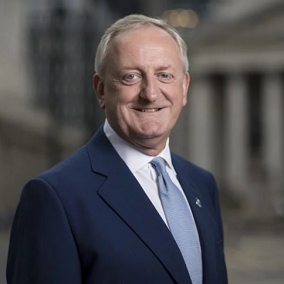 Lord Mayor of London in Australia with Fintech delegation