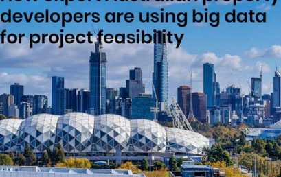 How expert Australian property developers are using big data for project feasibility