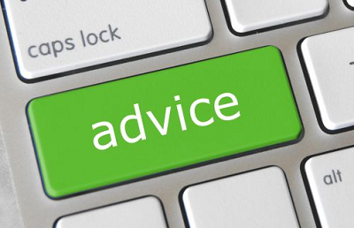 Clients prefer online advice