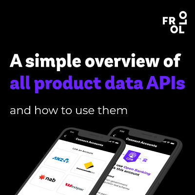 Frollo publishes a simple overview of all product data APIs in Australia