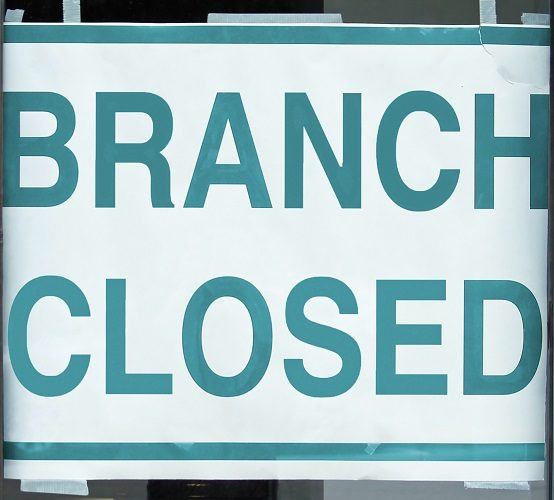 Are bank branches becoming a thing of the past?