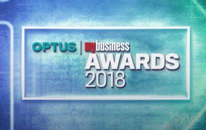 Australian Fintech finalists at the 2018 Optus My Business Awards