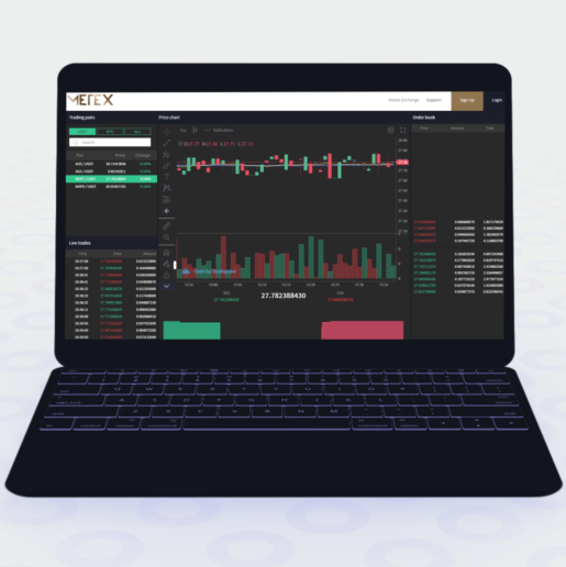 Crypto friendly metals exchange offers access to precious metal trading pairs