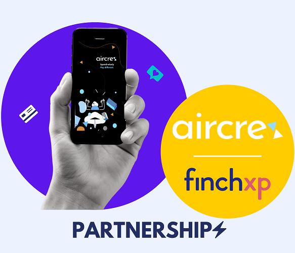 Finch and aircrex partnership  builds foundation for autonomous finance