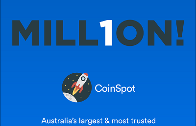 CoinSpot is approaching 1 million users & you could win Bitcoin!
