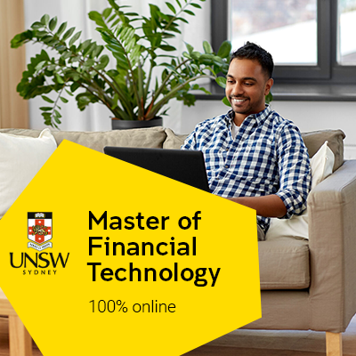 UNSW launches 100% online postgraduate degree to prepare students for the technological revolution in finance