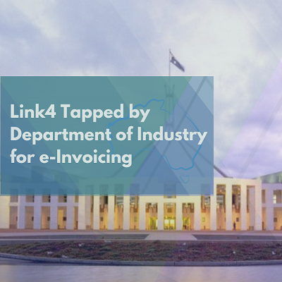 Link4 tapped by Department of Industry for e-Invoicing