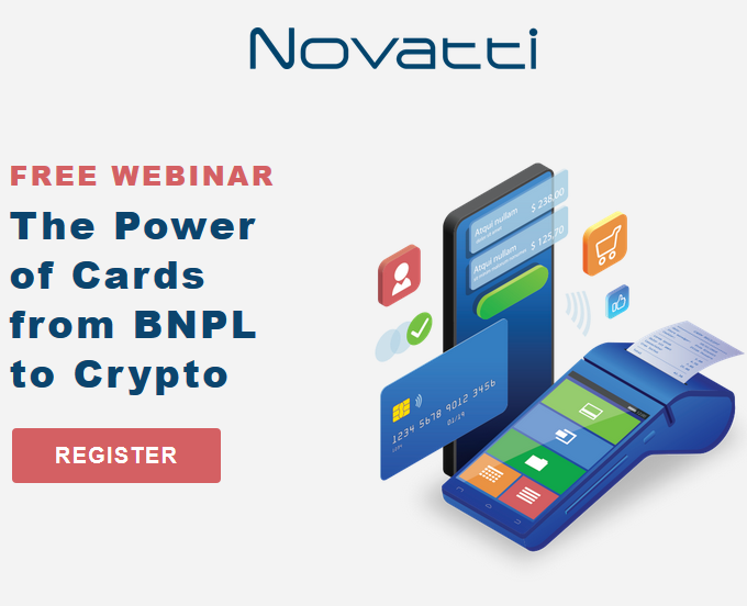 Novatti Free Webinar: The Power of Cards from BNPL to Crypto