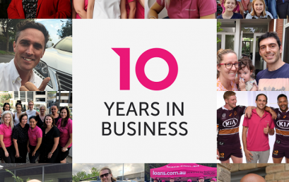 FinTech lender loans.com.au celebrates its 10th year in business