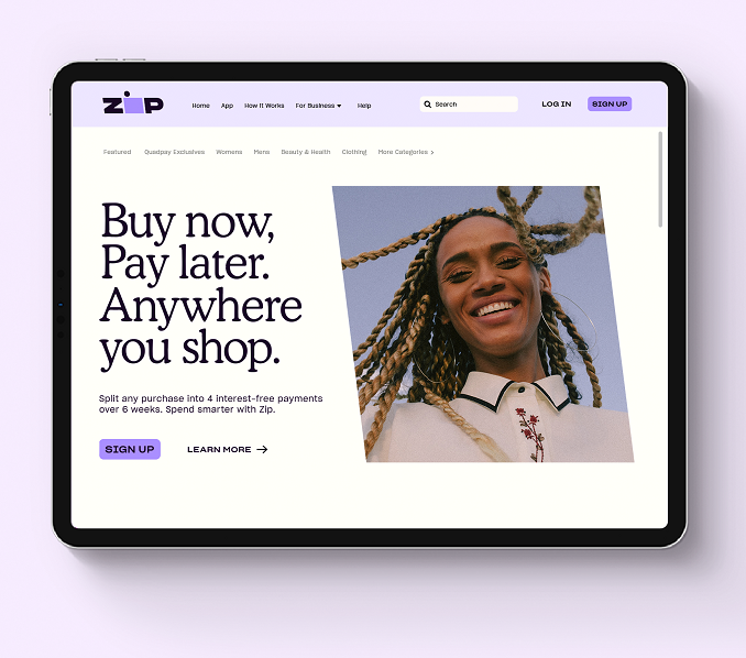 Zip unveils fearless new global brand