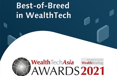 CREALOGIX crowned winner in 'Overall WealthTech Provider (Australasia)' at The WealthTechAsia Awards 2021