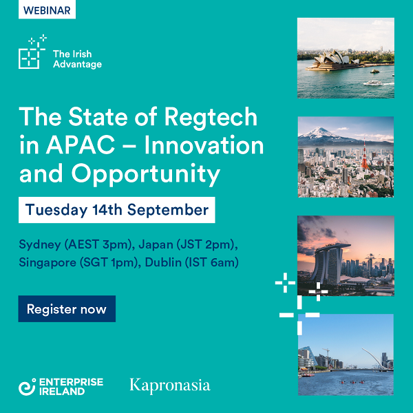 Webinar: The State of Regtech in APAC – Innovation and Opportunity